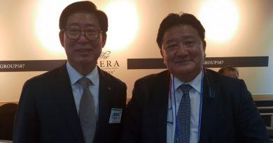 Nuestro presidente en Seul